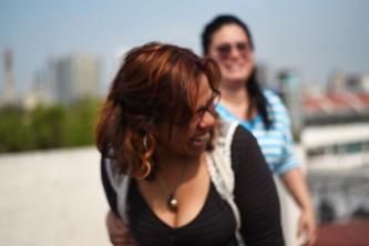 Mexico DF – Daniela y Liz, relationship lines can be blurry sometimes...