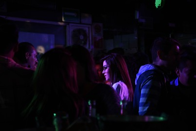 Mexico DF – It's a bar for everyone but of course women are the exception...