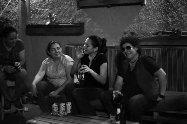 "Nicaragua, Managua – ""Papaya Fest"" aka a party night of cool Managuan lesbians"