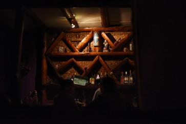 "Costa Rica, San Jose –Castilla, a ""lesbian"" bar... empty."