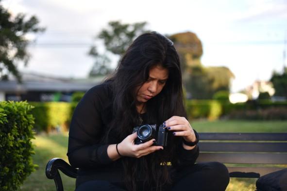 Costa Rica, San Jose –Raquel, step #1: prepare the camera