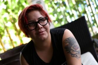 Nicaragua, Managua –Gabriela, pensativa