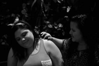 Nicaragua, Managua –Teresa y Nina: utterly in love!