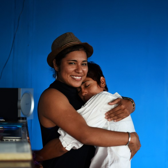 Nicaragua, Managua – Friendship, Helen, of the now defunct Casa de las Colores in León, and a friend