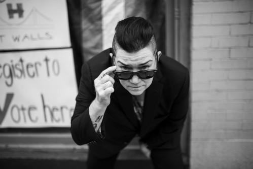 USA, Pittsburgh, PA – Lea Delaria, does she even need to be introduced?! Well for those of you who live under a rock she is a fierce and badass lesbian actress, very politically active, and she plays Boo on Orange Is The New Black!