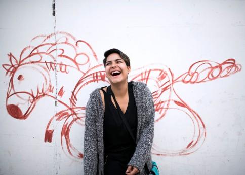 Guatemala, Ciudad Guatemala – Daniela, thrilled about posing