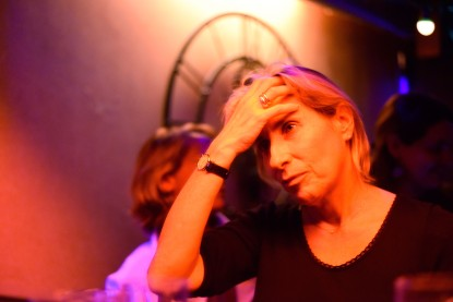 Paris – Self-absorbed lesbian, at the So What