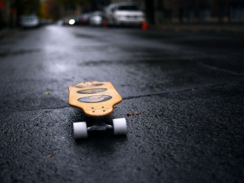 Montréal – Wet roads...