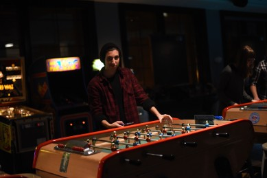 Montréal –Foosball at LSTW night at Fitzroy