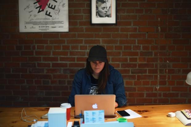 Montréal –Florence, LSTW rock star, at the LSTW offices