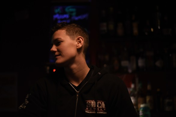 Seattle – Tiffanie, awesome bartender at the Wild Rose