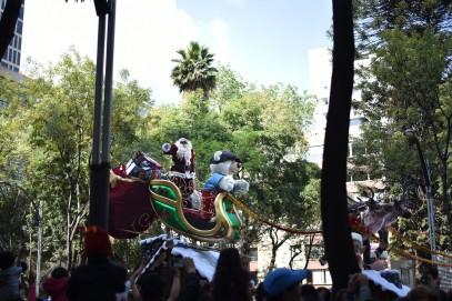 We saw Santa!
