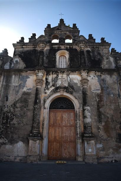 Granada, Iglesia de la Merced, with SOGW longboard