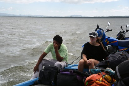 Lake Nicaragua – Unlikely boat friends