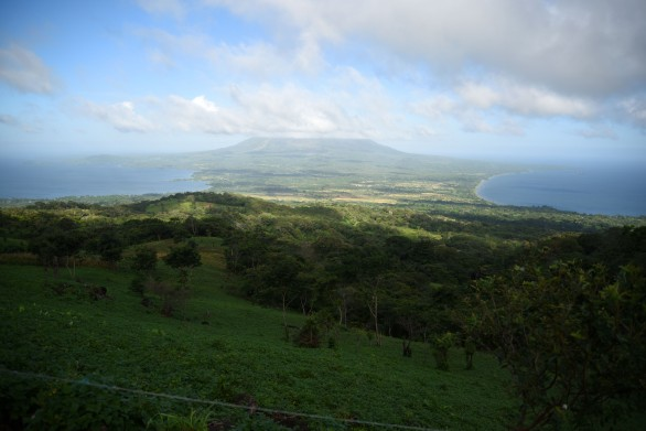 Ometepe – View of the Concepción volcano from the Maderas volcano which, yes, I climbed!