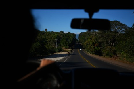 On the road from Puntarenas to Monteverde