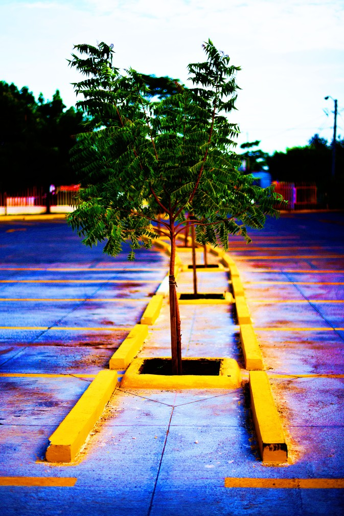 Managua – Hispamer parking lot, enhanced by me