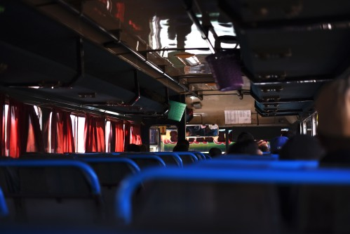 Bus from Managua to Estelí