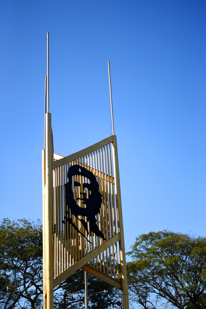 Managua –The Che is on government property
