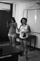 Rap Workshop –Giving a workshop and filming their documentary, they're superwomen!