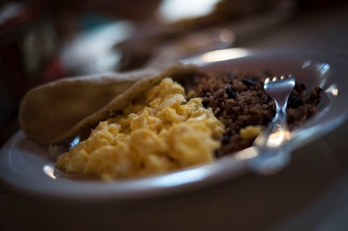 Managua –Best gallo pinto in town