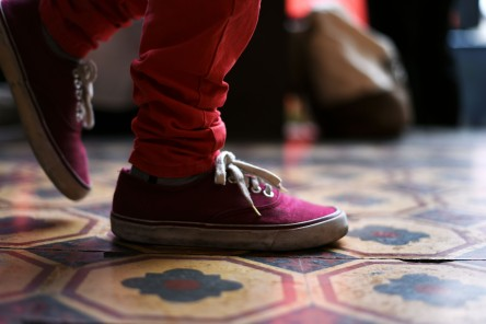 Ciudad Guatemala – These Vans aren't white but they're cool anyway