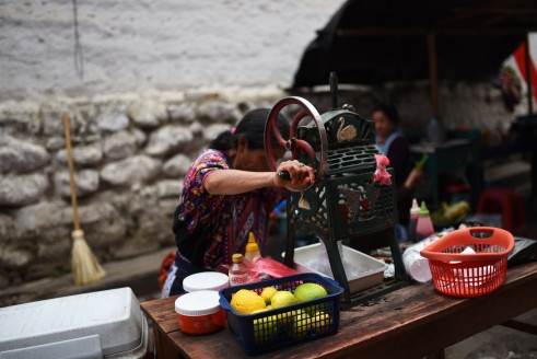 Chichicastenango – Shaving ice