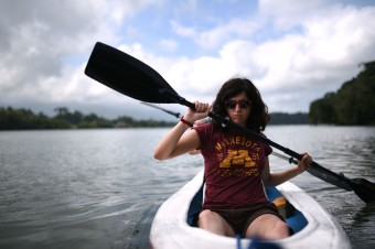 Río Dulce – Fierce kayaking!