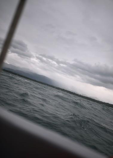 """Ferry"" from Punta Gorda, Belize, to Puerto Barrios, Guatemala"