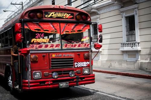 Ciudad Guatemala – Fierce bus