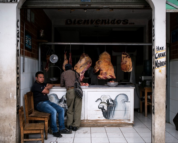 Chichicastenango – Butcher's shop