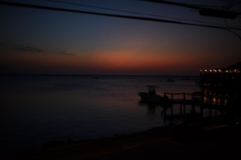 Sunset in Roatán