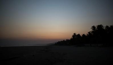 Sunset at El Cuco