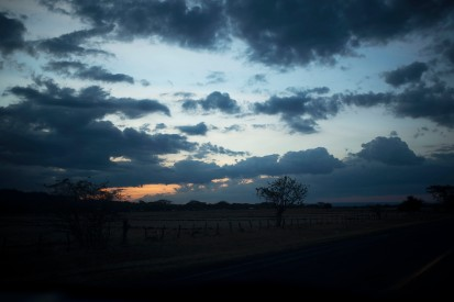 Road from San Juan to Managua