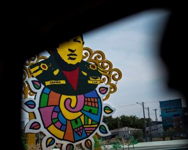 Managua –Chavez public art