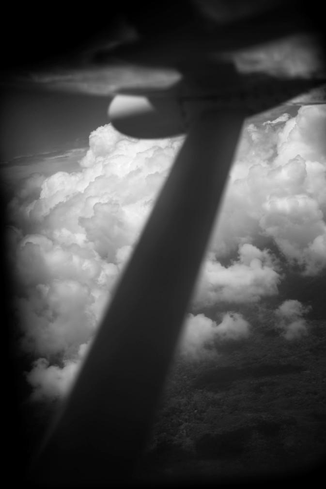 Plane from Panama City to Puerto Obaldia – View